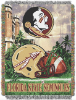NCAA Florida State Seminoles Home Field Advantage 48x60 Tapestry Throw