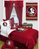 NCAA Florida State Seminoles Comforter - Locker Room Series