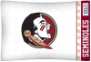NCAA Florida State Seminoles Micro Fiber Pillow Cases (set of 2)
