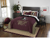 NCAA Florida State Seminoles QUEEN Comforter and 2 Shams