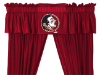 NCAA Florida State Seminoles Valance - Locker Room Series