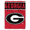 NCAA Georgia Bulldogs OVERTIME 60x80 Super Plush Throw