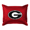 NCAA Georgia Bulldogs Pillow Sham - Locker Room Series