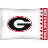 NCAA Georgia Bulldogs Micro Fiber Pillow Cases (set of 2)