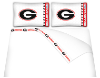 NCAA Georgia Bulldogs Micro Fiber Bed Sheets