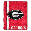NCAA Georgia Bulldogs Sherpa 50x60 Throw Blanket