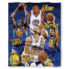 NBA Golden State Warriors Durant, Curry, Green, Thompson 50x60 Silk Touch Blanket