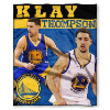 NBA Golden State Warriors Klay Thompson 50x60 Silk Touch Blanket