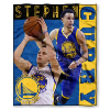 NBA Golden State Warriors Stephen Curry 50x60 Silk Touch Blanket