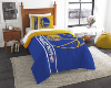 NBA Golden State Warriors Twin Comforter with Sham