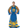 NBA Golden State Warriors Uniform Huddler Blanket With Sleeves