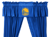 NBA Golden State Warriors Valance - Locker Room Series