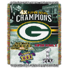 NFL Green Bay Packers Commemorative 48x60 Tapestry Throw