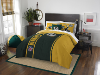 NFL Green Bay Packers Full Comforter and 2 Shams