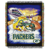 NFL Green Bay Packers Home Field Advantage 48x60 Tapestry Throw
