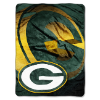 NFL Green Bay Packers BEVEL 60x80 Super Plush Throw