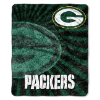 NFL Green Bay Packers Sherpa STROBE 50x60 Throw Blanket
