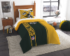 NFL Green Bay Packers Twin Comforter with Sham