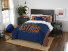 MLB Houston Astros QUEEN Comforter and 2 Shams