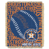 MLB Houston Astros 48x60 Triple Woven Jacquard Throw