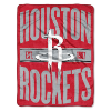 NBA Houston Rockets 50x60 Micro Raschel Throw