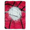 NBA Houston Rockets SHADOW 60x80 Super Plush Throw