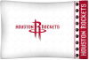 NBA Houston Rockets Micro Fiber Pillow Cases (set of 2)