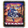 NFL Houston Texans Home Field Advantage 48x60 Tapestry Throw
