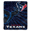 NFL Houston Texans Sherpa STROBE 50x60 Throw Blanket