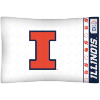 NCAA Illinois Fighting Illini Micro Fiber Pillow Cases (set of 2)