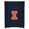NCAA Illinois Fighting Illini Shower Curtain