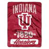 NCAA Indiana Hoosiers 50x60 Micro Raschel Throw