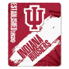 NCAA Indiana Hoosiers 50x60 Fleece Throw Blanket