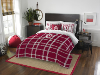 NCAA Indiana Hoosiers Full Comforter and 2 Shams