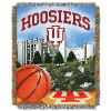 NCAA Indiana Hoosiers Home Field Advantage 48x60 Tapestry Throw