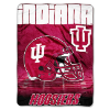 NCAA Indiana Hoosiers OVERTIME 60x80 Super Plush Throw