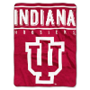 NCAA Indiana Hoosiers 60x80 Super Plush Throw