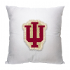 NCAA Indiana Hoosiers 18x18 Letterman Pillow