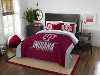 NCAA Indiana Hoosiers QUEEN Comforter and 2 Shams