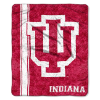 NCAA Indiana Hoosiers Sherpa 50x60 Throw Blanket