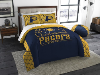 NBA Indiana Pacers QUEEN Comforter and 2 Shams