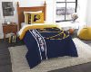 NBA Indiana Pacers Twin Comforter with Sham