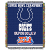 NFL Indianapolis Colts Commemorative 48x60 Tapestry Throw