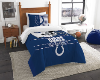NFL Indianapolis Colts Twin Comforter Set