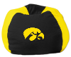 NCAA Iowa Hawkeyes Bean Bag Chair
