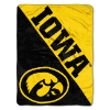 NCAA Iowa Hawkeyes 50x60 Micro Raschel Throw