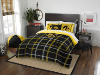 NCAA Iowa Hawkeyes Full Comforter and 2 Shams
