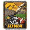 NCAA Iowa Hawkeyes Home Field Advantage 48x60 Tapestry Throw