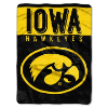 NCAA Iowa Hawkeyes 60x80 Super Plush Throw
