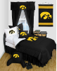 NCAA Iowa Hawkeyes Comforter - Locker Room Series